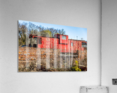 Rail Car in Petersburg VA  Acrylic Print