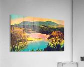 housatonic river monument mountain stockbridge mass  Acrylic Print