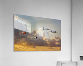 Four T 28 Trainers  Acrylic Print
