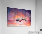 Beech B18 Inverted Flight  Acrylic Print