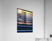 Window Blinds  Acrylic Print