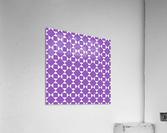 Purple Geometric Pattern  Acrylic Print