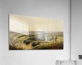 Hunting Buffalo  Acrylic Print