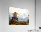 Children of the Snake Tribe  Acrylic Print