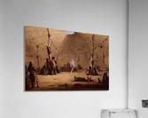 Indian Lodge  Acrylic Print