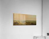 Sir William Drummond Caravan en Route  Acrylic Print