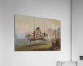 An Indian girl on horseback  Acrylic Print