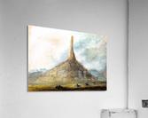 Chimney Rock near Scotts Bluff  Acrylic Print