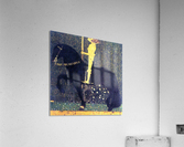 The life of a struggle (The Golden Knights) by Klimt  Acrylic Print
