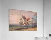 Indian Beating a Retreat  Acrylic Print