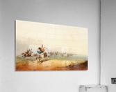 Lassoing Horses  Acrylic Print