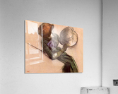 The milliner 2 by Degas  Acrylic Print