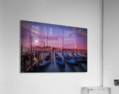 VENICE Gondolas at Sunset  Acrylic Print