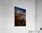 VENICE Gondolas during Blue Hour  Acrylic Print