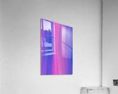 Purple Patterns  Acrylic Print