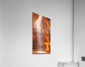 Beautiful Antelope Canyon Panoramic View  Acrylic Print