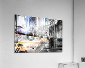 New York City Geometric Mix No. 9  Acrylic Print