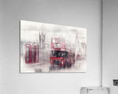 City-Art LONDON Westminster Collage II  Acrylic Print