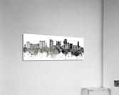 San Salvador Skyline  Acrylic Print
