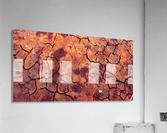 high end rocks art  Acrylic Print