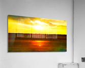 orange yellow  Acrylic Print