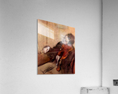 The violinist 1 by Degas  Acrylic Print