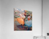 Three dancers 1 by Degas  Acrylic Print
