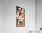 1986 Baltimore Orioles Ripken Murray Poster  Impression acrylique