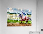 Racehorse09  Acrylic Print