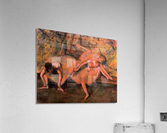 Two dancers on a bank by Degas  Acrylic Print
