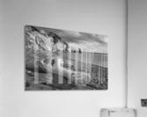 La Presqu'ile in black and white  Acrylic Print