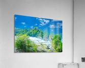 Beautiful Day at Rheinfall Switzerland 1 of 2  Acrylic Print