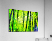 Bamboo forest oil painting inVincent Willem van Goghstyle. 3.   Acrylic Print