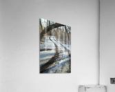Snowy Trails  Acrylic Print