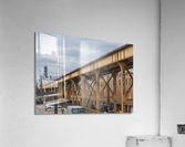 Take the Next Train  Acrylic Print