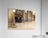 Bank Columns  Acrylic Print
