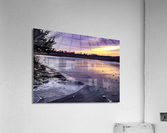 A Violet Sunset  Acrylic Print