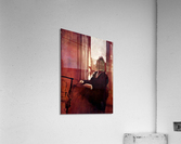 Woman at the window by Degas  Acrylic Print
