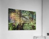 Trees Textures  Acrylic Print