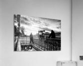 Go to work  Impression acrylique