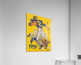 1959 LA Rams Karl Hubenthal Art  Acrylic Print