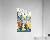 1977 Kentucky Football Poster  Acrylic Print