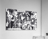 1987 Michael Irvin Miami Football Art  Acrylic Print