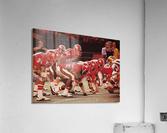 1977 UCLA vs. Houston Football Action  Acrylic Print