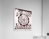 Vintage Texas Aggies Art  Acrylic Print