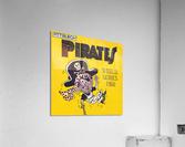 1960 Pittsburgh Pirates World Series Art  Acrylic Print