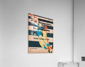 1961 Massachusetts vs. New Hampshire Wildcats  Acrylic Print