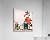 Vintage Fifties Miami Hurricane Art  Acrylic Print