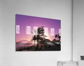 Sunset Costa Del Sol Spain  Acrylic Print