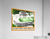 1964 Tennessee Vols Football Ticket Stub Remix  Acrylic Print